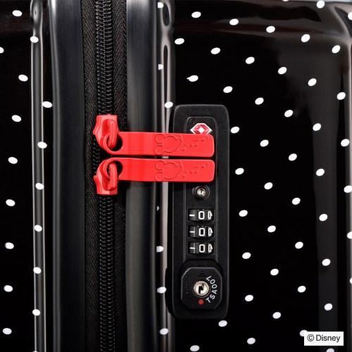"""【30%OFF】≪ace.≫ 限定★Disney クラシカル""""ミッキー""""スーツケース  60リットル☆4~5泊程度のご旅行向きスーツケース 06115"""
