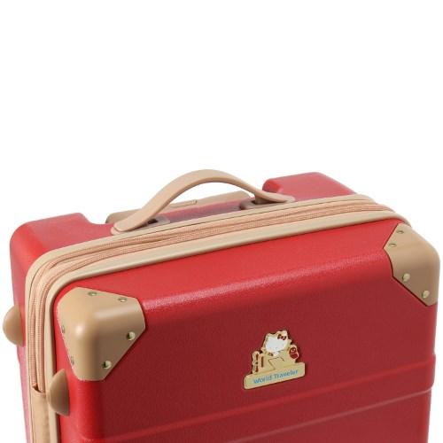 ≪World Traveler/ワールドトラベラー≫ 10周年記念 『ハローキティ』 コラボスーツケース第2弾☆57リットル 3~5泊程度のご旅行向きスーツケース 06324
