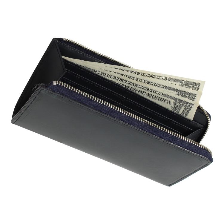 ≪PLUS STYLE/プラススタイル≫クロムエクセルⅡ L字ファスナー長財布 カード収納豊富 14498