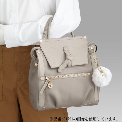 ≪Kanana project/カナナプロジェクト≫CLプレミアムレザー3☆おしゃれしたい日もOKの上品デザイン!リュックサック 31722