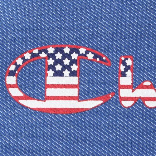 ≪Champion/チャンピオン≫ サリンジャー ショルダーバッグ キッズサイズ メッセンジャータイプ 星条旗モチーフのロゴが印象的! 57153