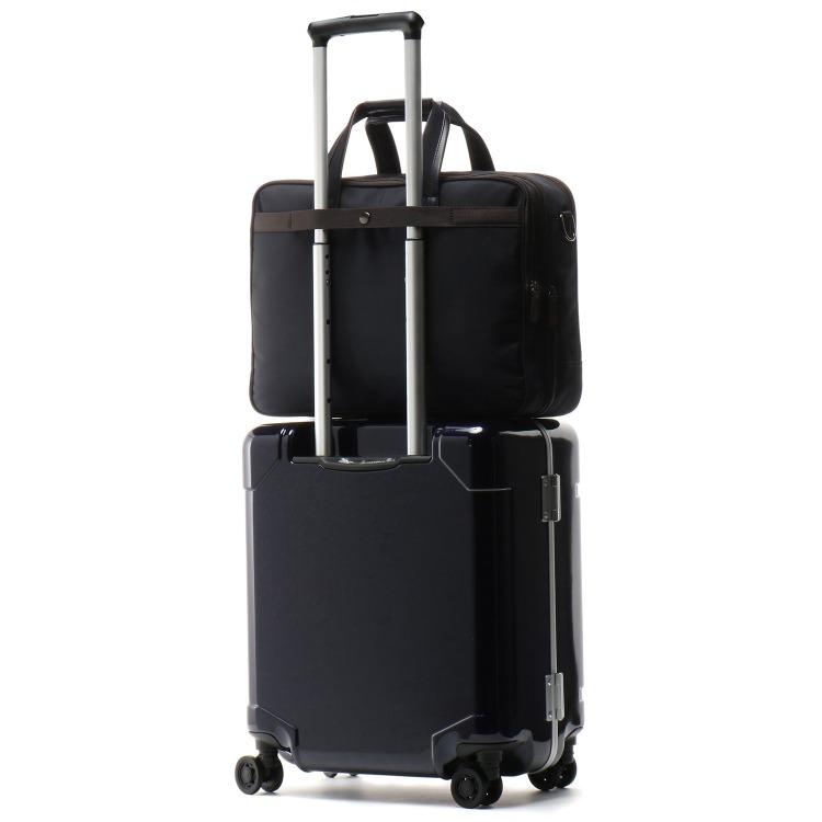 ≪World Traveler/ワールドトラベラー≫ ギャラント ブリーフケース 出張対応OK 2気室・余裕のあるB4サイズ 容量が広がるエキスパンダブル機能 ビジネスバッグ 57223