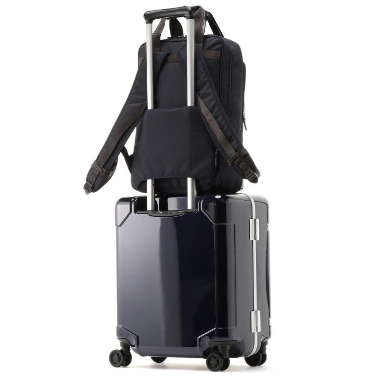≪World Traveler/ワールドトラベラー≫ ギャラント ビジネスリュック 毎日の通勤に A4サイズ セットアップ機能付き 57224