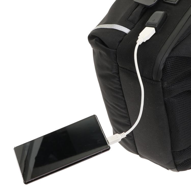 ≪ultima TOKYO/ウルティマ トーキョー≫ アレックス バックパック A4サイズ/13インチPC収納/USBポート搭載 ビジネスリュック 77932