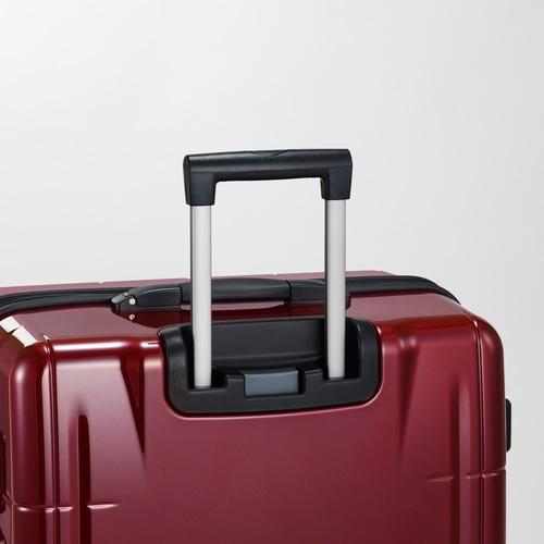 ≪Proteca/プロテカ≫ スタリアVs タッチ 指紋認証式ロック搭載 スーツケース 98リットル キャスターストッパー・ベアロンホイール搭載 10泊~2週間程度の旅行に 08925
