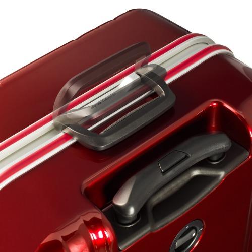 ≪ワールドトラベラー/サグレス≫ キャスターストッパー付 フレームタイプスーツケース 3~4泊程度の旅行に 50リットル  06064