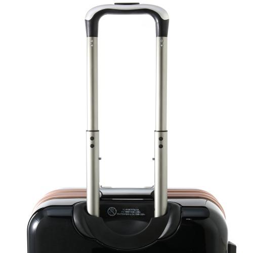 ≪Z.N.Y/ゼット・エヌ・ワイ≫ ラウビル スーツケース 56リットル フレームタイプ 4~5泊の旅行に 06381