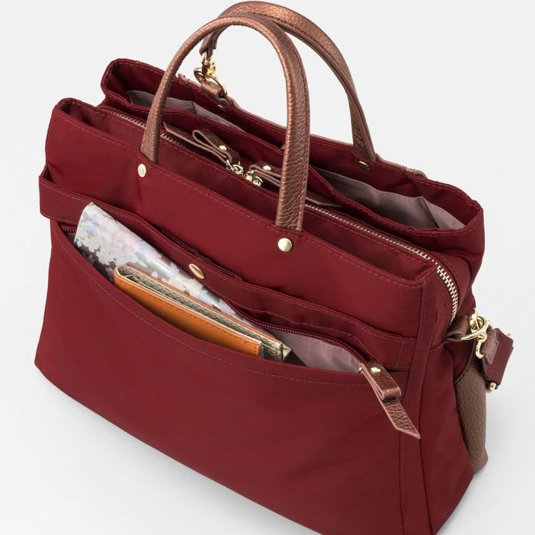 ≪カナナプロジェクト/カナナポケット2≫ 上品な印象のトートバッグ&ショルダーの2wayバッグ B5サイズ  31874