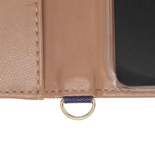 ≪JEWELNA ROSE/ジュエルナローズ≫ カワイイ チャーム付き 手帳型モバイルケース iPhone8 / 33721
