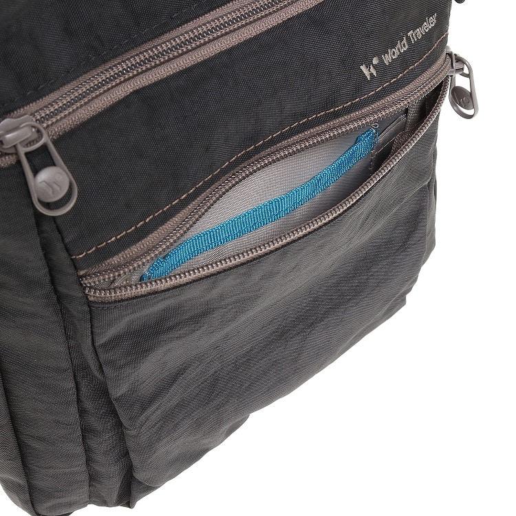 ≪World Traveler/ワールドトラベラー≫ カペラ ショルダーバッグ タテ型 男女兼用で使いやすい軽量ショルダー 57181