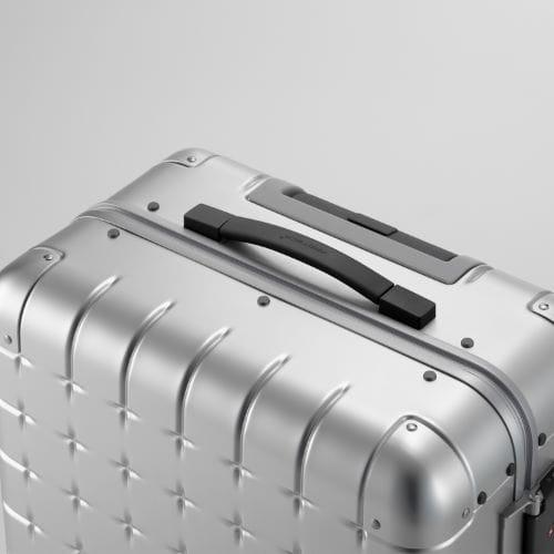 ≪プロテカ 360 アルミニウム/PROTECA  360≫機内持込み対応サイズ◇2泊程度の旅行用スーツケース 36リットル   00671