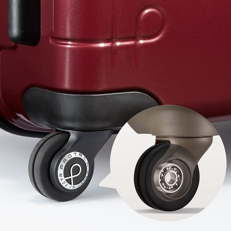 ≪Proteca/プロテカ≫ スタリアVs LTD [限定/幾何学柄プリント] スーツケース 76リットル キャスターストッパー・ベアロンホイール搭載 1週間程度の旅行に  08914