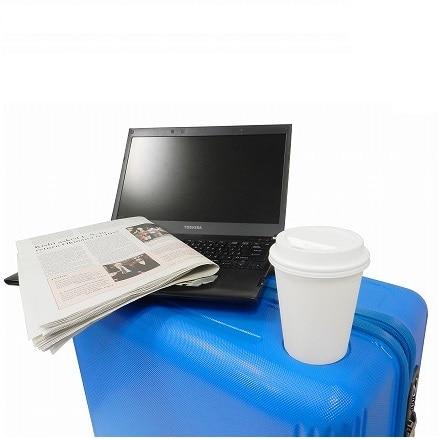 ≪Dash ホワイト 75L≫ラゲージ スーツケース トランク / 05712-06