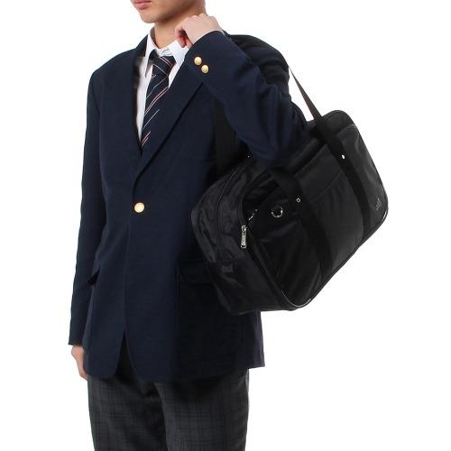 ≪adidas/アディダス≫ スクールバッグ 通学用にオススメ!ちょっと大きめボストンタイプ A4ファイル対応 男女兼用 通学カバン 47652