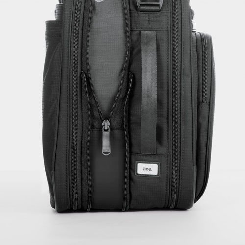 ≪ace. フレックスライト フィット≫ 毎日の通勤におすすめ!A4サイズ 2気室 マチ幅UP機能で荷物が増えても安心  使いやすさで支持率No.1デザイン! 54559