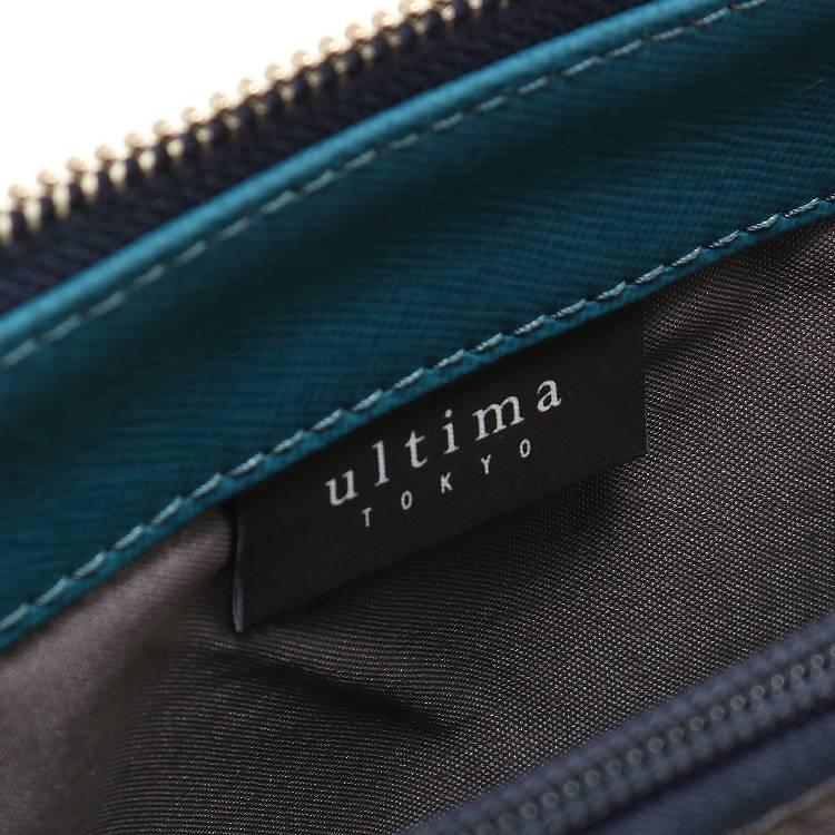 ≪ultima TOKYO/ウルティマ トーキョー≫ アーバンスイッチショルダー LTD2 ショルダーバッグ/クラッチ/バッグinバッグの3WAYで使える レザーショルダー 8インチタブレット収納 薄マチタイプ 77890