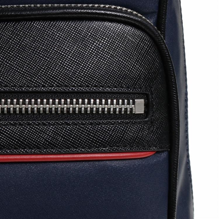 ≪ultima TOKYO/ウルティマ トーキョー≫ スティード バックパック フロントのラインカラーが印象的なビジネスリュック A4サイズ/PC対応 77891