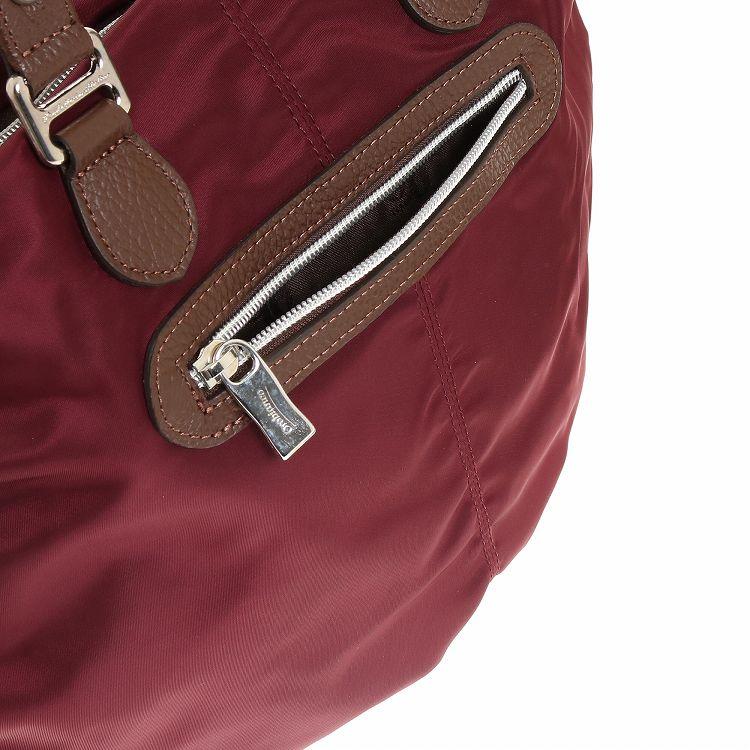 ≪オロビアンコ  MOMOSA S-G 01≫ レディース トートバッグ 独特の丸みあるフォルムにリモンタナイロンが高級感を演出 90310