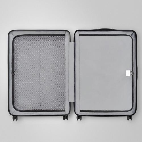 ≪ace. コーナーストーンZ≫ ジッパータイプ スーツケース 98リットル 10泊程度のご旅行に 06234