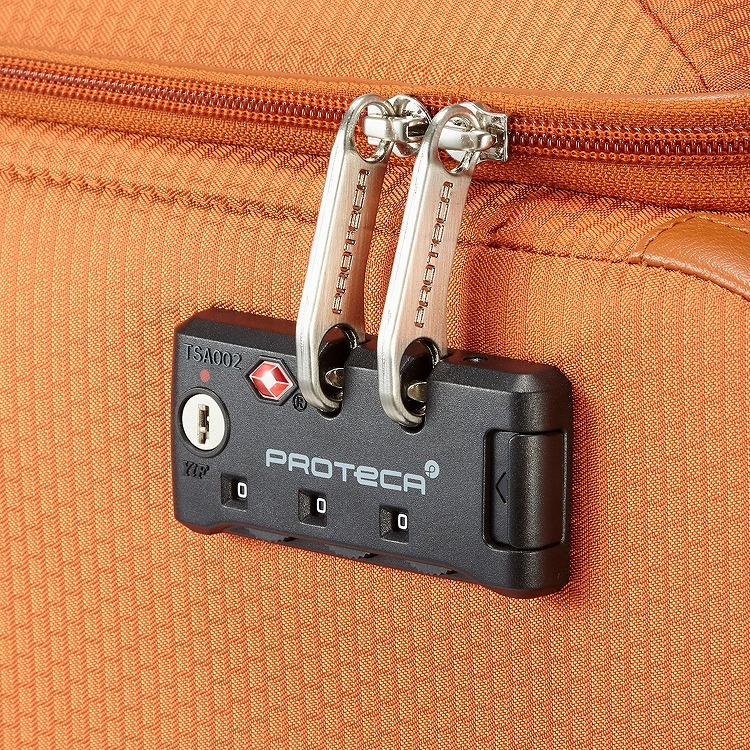 ≪Proteca/プロテカ≫ フィーナ 超軽量・キャリーケース 24リットル 100席以上の機内持込み対応サイズ 1泊旅行に 12745