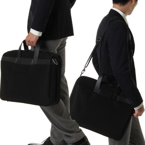 ≪ace. ディバイダー≫毎日の通勤~1泊程度の出張に。収納力のあるビジネスバッグ 30405