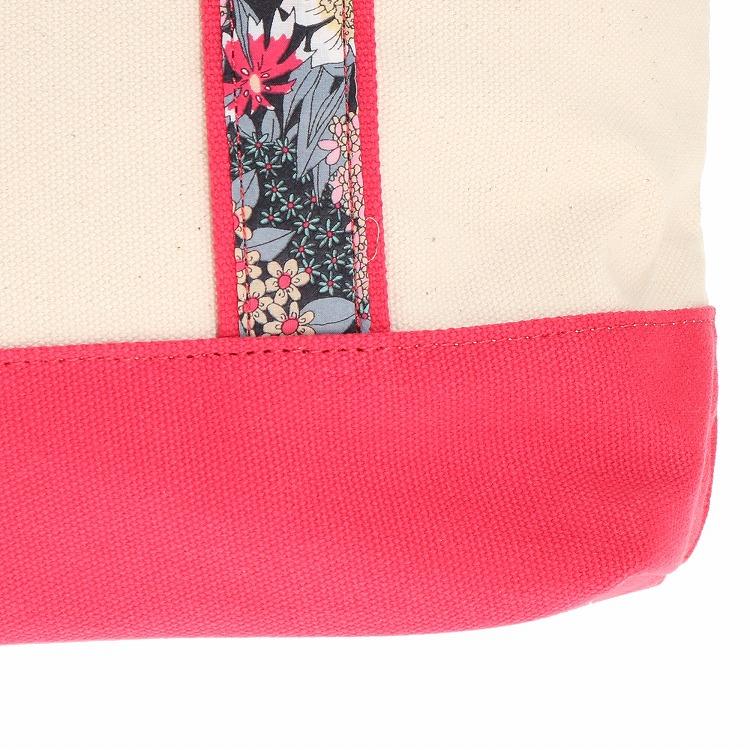 ≪JEWELNA ROSE/ジュエルナローズ≫リバティ・ファブリック トートバッグ レディース A4サイズ 花柄 サブバッグ 32737