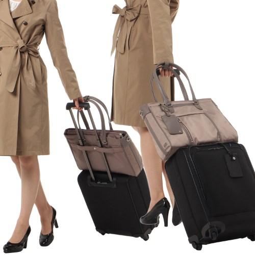 ≪ace. ビエナ≫レディースビジネス☆毎日の通勤に。A4サイズ通勤トートバッグ 59092