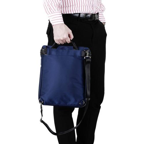 ≪ace. クロビレット≫ スリングバッグ タテ型 A4ファイル収納 9.7インチタブレット収納 ショルダーバッグ 59882