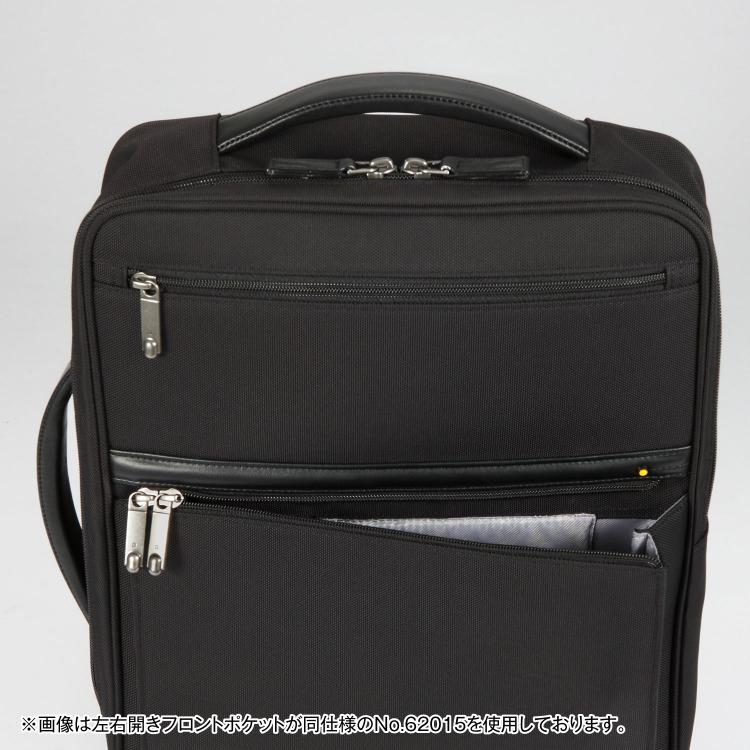 ≪ace./エース≫ EVL-3.5 2WAYバックパック 14リットル 2気室/B4/15インチPC収納 薄マチ・ビジネスリュック 62015