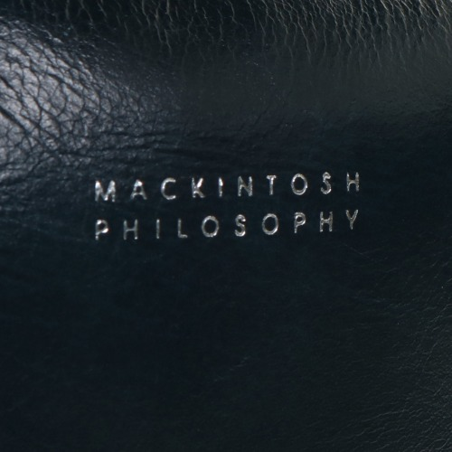 ≪MACKINTOSH PHILOSOPHY/マッキントッシュ フィロソフィー≫ プレイヴァル レザーボディバッグ 8インチタブレット収納 ワンショルダー 73112