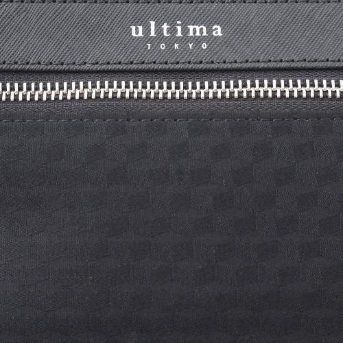 ≪ultima TOKYO/ウルティマ トーキョー≫3way スマートバッグFW ◇限定・和柄◇セカンドバッグ、ショルダーバッグ、バッグinバッグの3通り マチ無しタイプ (コットン×レザー素材)  77842