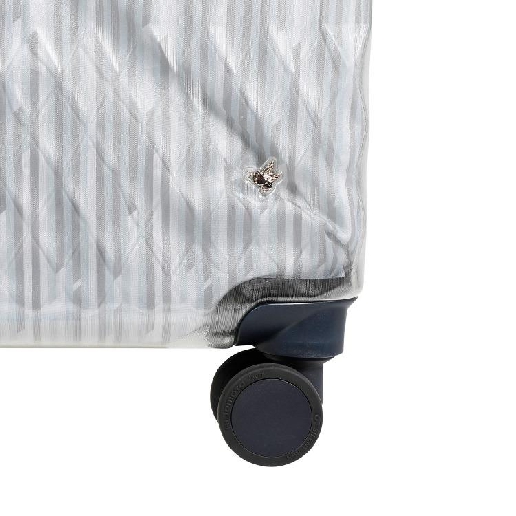 【限定】≪HaNT/ハント≫ソロ LTD スーツケース 32リットル 機内持込み対応サイズ 透明感が美しい魅惑のシースルーボディのスーツケース キャスターストッパー搭載 1~2泊の旅行に 06556