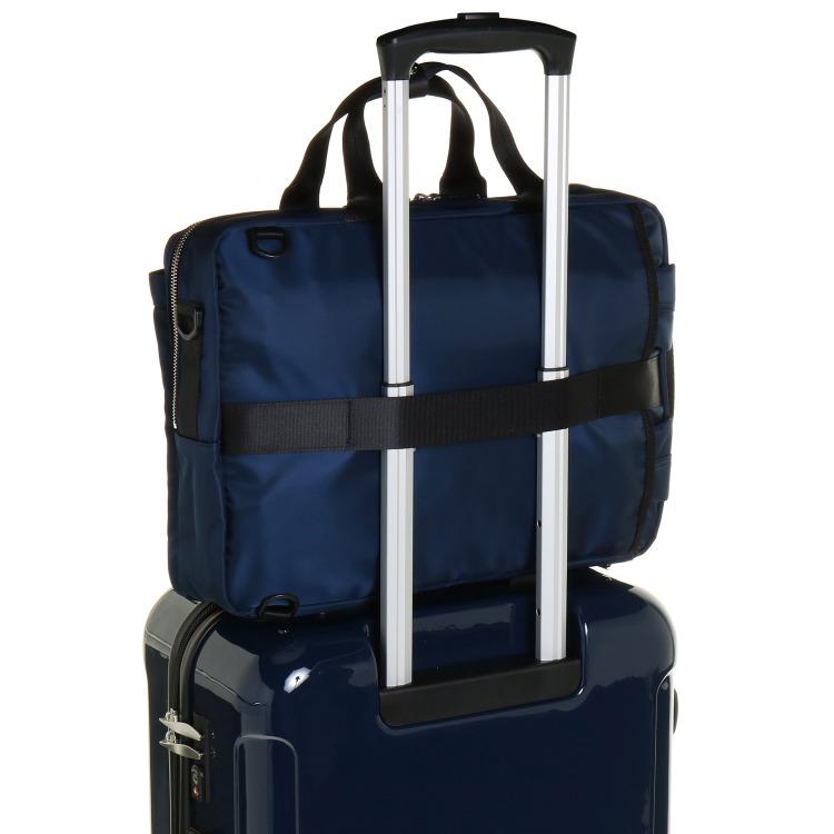 ≪PLUS STYLE/プラススタイル≫ クルーク 3WAYバッグ 1気室/A4サイズ収納/13インチPC対応 ビジネスリュック 14495