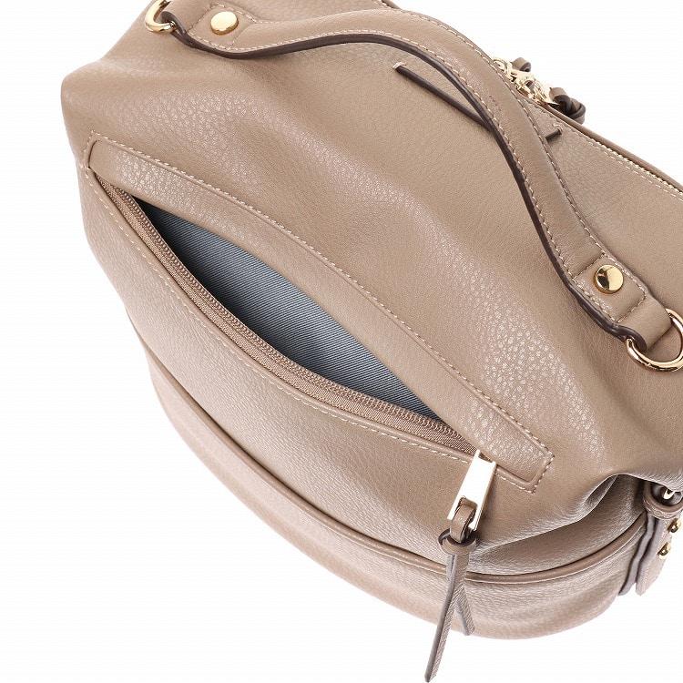 ≪JEWELNA ROSE/ジュエルナローズ≫マウラ ハンドバッグ ミディアムサイズ 通勤バッグ レディース カジュアル ショルダーベルト付き 16013