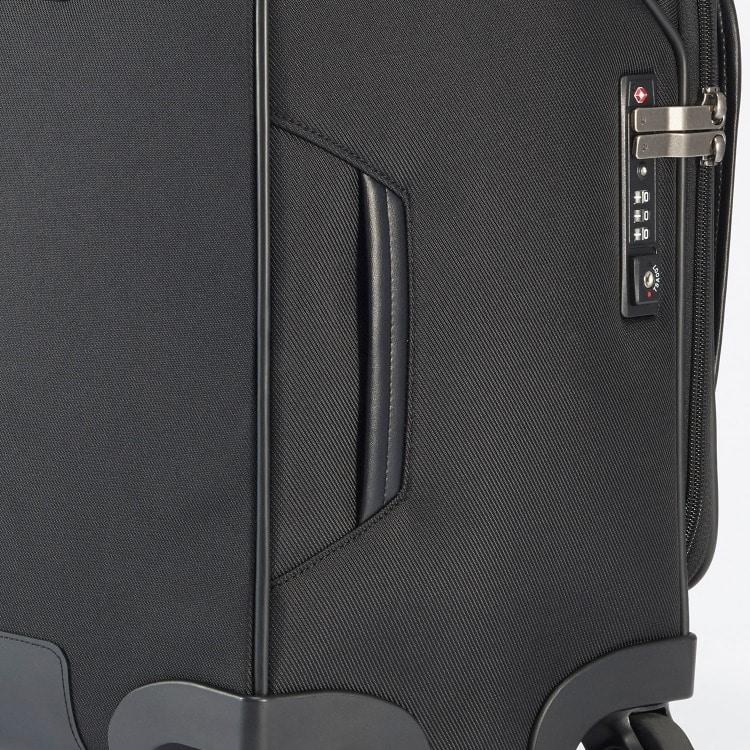 ≪ ace./エース≫ フレックスルーフ ヨコ型キャリーケース 28リットル PC収納対応 機内持込み対応サイズ/4輪 55592