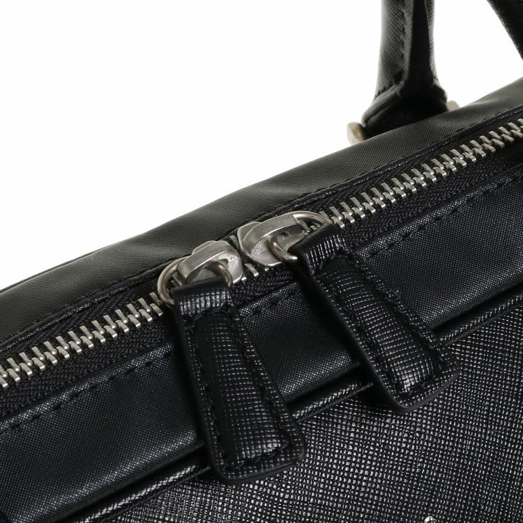 ≪ultima TOKYO/ウルティマ トーキョー≫ スティード ブリーフケース 1気室 フロントのラインカラーが印象的なビジネスバッグ B4サイズ/PC対応 77892