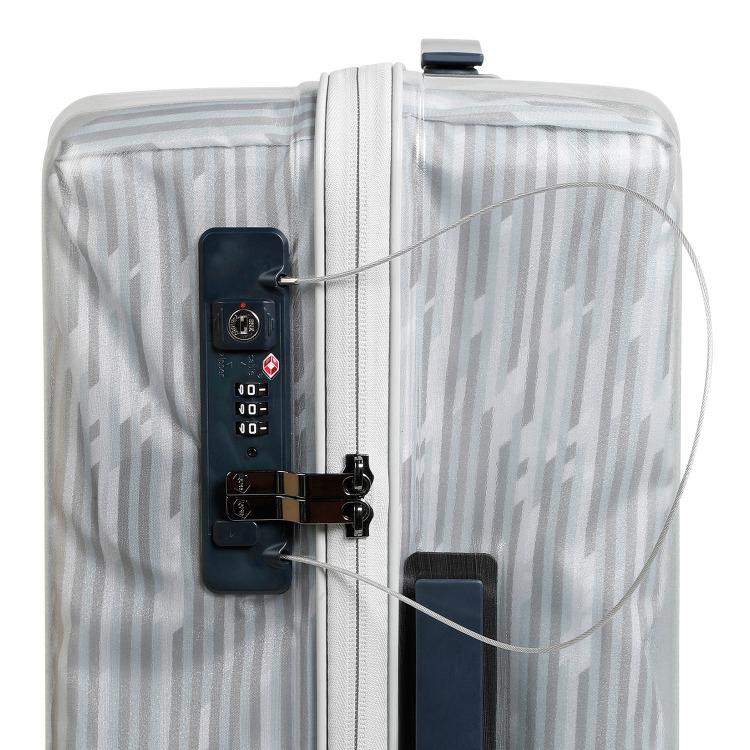 【限定】≪HaNT/ハント≫ソロ LTD スーツケース 53リットル 透明感が美しい魅惑のシースルーボディのスーツケース キャスターストッパー搭載 3~4泊の旅行に 06557
