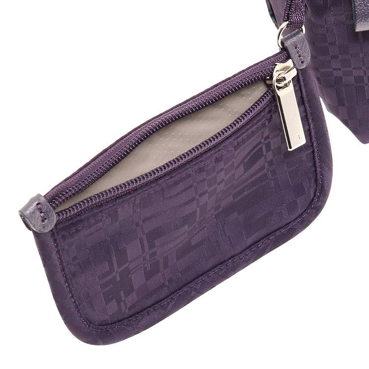 ≪ace. ウィルカール≫ ショルダーバッグ ジャガード織りが上品なトラベルシリーズ 55604