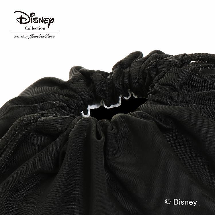【3月上旬頃入荷予定】≪JEWELNA ROSE/ジュエルナローズ≫ トロトゥール ディズニー ミッキー メニーフェイシズ 巾着ポーチ 小物入れ 縦型 スタンド式 立てて収納可能 29852