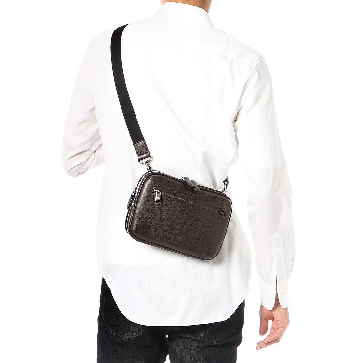 ≪ultima TOKYO/ウルティマ トーキョー≫ マイクロショルダー ヨコ型ショルダーバッグ 容量を拡張できるエキスパンダブル バッグインバッグにもなる2WAYタイプ 77924