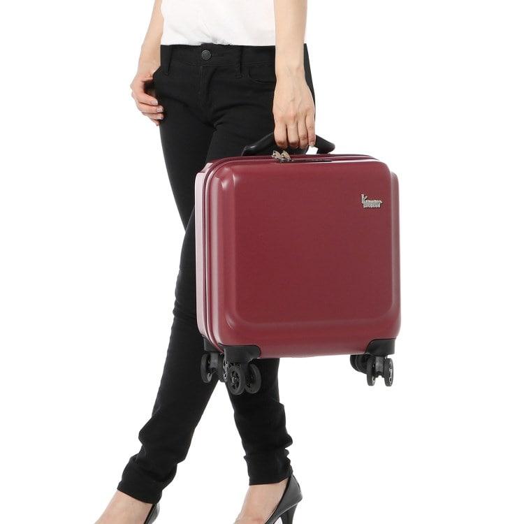 ≪カナナプロジェクト/カナナハードトローリー≫機内持ち込み対応スーツケース 2泊程度のご旅行に 05878