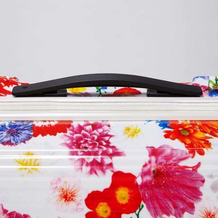≪ M / mika ninagawa≫ スーツケース ace.リップルz MN ジッパータイプ 67リットル キャスターストッパー/ワイヤー式ロック搭載 1週間程度の旅行に 06562