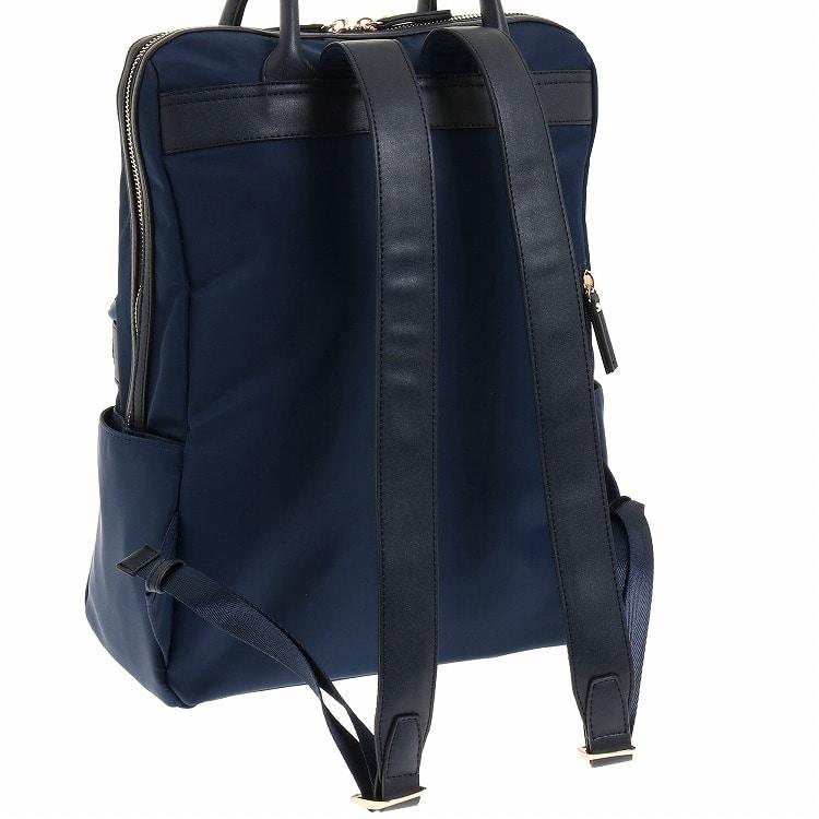 ≪JEWELNA ROSE/ジュエルナローズ≫ダーシー リュックサック A4サイズ 通勤バッグ レディース お仕事バッグ ナイロン 軽量 通勤リュック 16008