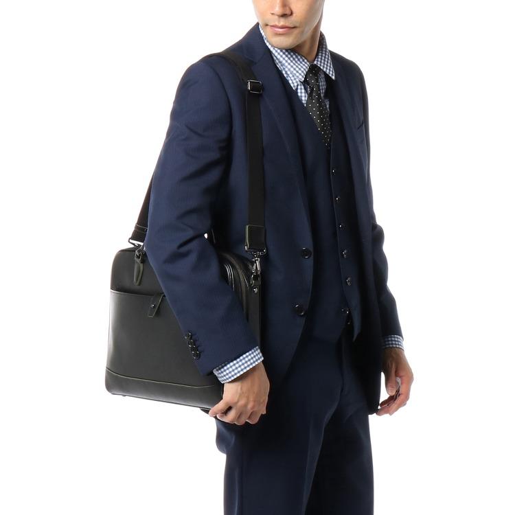 ≪ultima TOKYO/ウルティマ トーキョー≫ オルロ ブリーフケース レザービジネスバッグ 1気室/A4サイズ 薄マチタイプ 71963