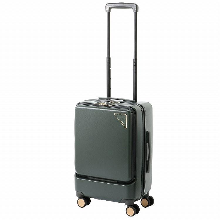 ≪JEWELNA ROSE/ジュエルナローズ≫NOMAD STATION スーツケース(26L) ジッパータイプ 機内持ち込み100席以上対応 1-2泊の旅行や出張にピッタリの大人っぽいシンプルデザイン 06085