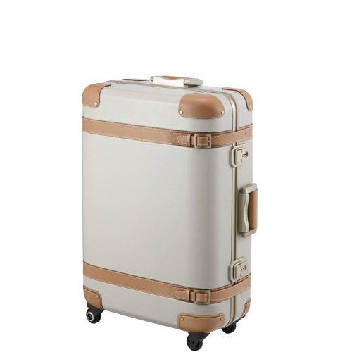 ≪Proteca/プロテカ≫ ジーニオセンチュリーs スーツケース プルドライブハンドルなしタイプ 85リットル 滑らかな走行を実現したベアロンホイール搭載 プロテカのプレステージモデル 1週間~10泊程度のご旅行に 00813