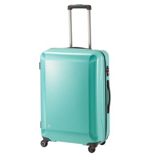 ≪プロテカ ラグーナライト Fs≫ 67リットル★4,5泊~1週間程度の旅行用スーツケース リゾートにおすすめ! 静かで滑らかなベアロンホイール搭載  02743
