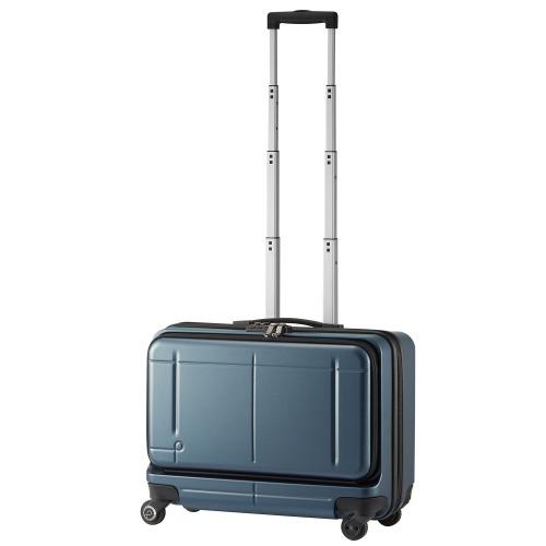 ≪プロテカ マックスパス ビズ ≫ スーツケース 37リットル 機内持込適応サイズ フロントポケット/静かで滑らかなベアロンホイール搭載 15.6インチPC収納 02763
