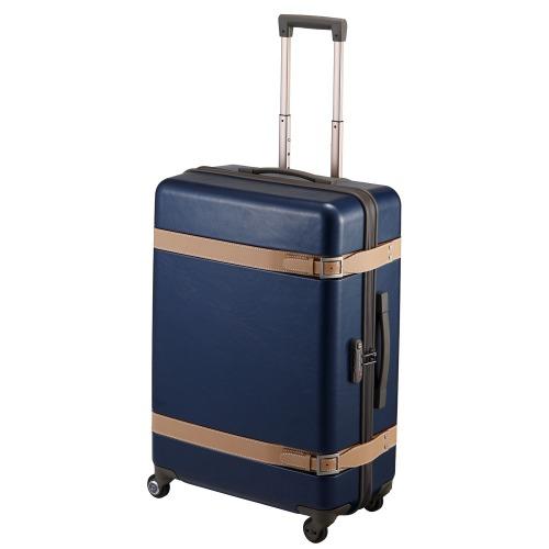 ≪プロテカ ジーニオ センチュリー Z≫ スーツケース 72リットル ―プロテカのプレステージモデルにジッパータイプが登場―キャスターストッパー搭載 1週間程度の旅行に 02812