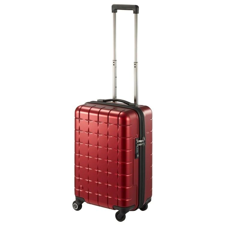≪Proteca/プロテカ≫ 360T メタリック スーツケース 360°オープン ジッパータイプ 33リットル 機内持込み対応サイズ 2~3泊程度の旅行に 02931